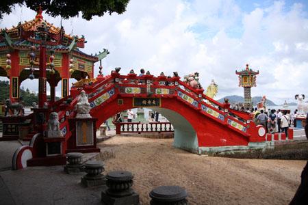 天后廟の橋